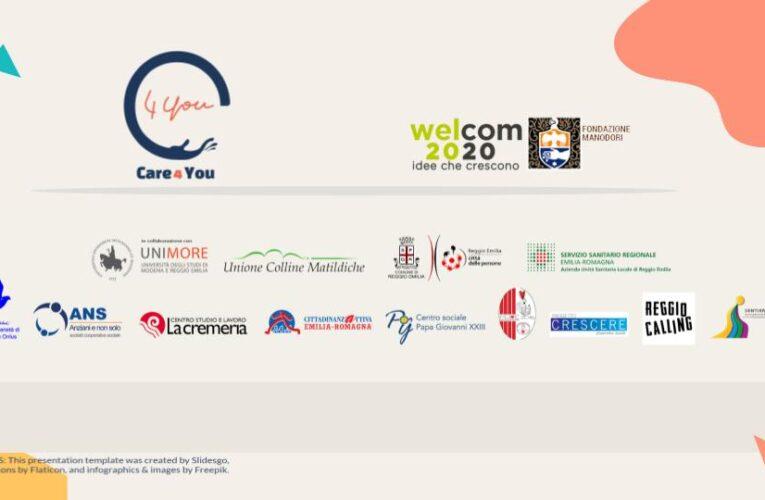Progetto CARE4YOU, al fianco dei giovani caregivers